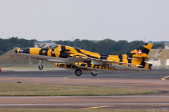 Hawker Hunter Mk66, J-4206/HB-RYY (Leezpics) Tags: aircraft aviation hunter airshows militaryaviation fairford riat j4206 14july2011 hbryy