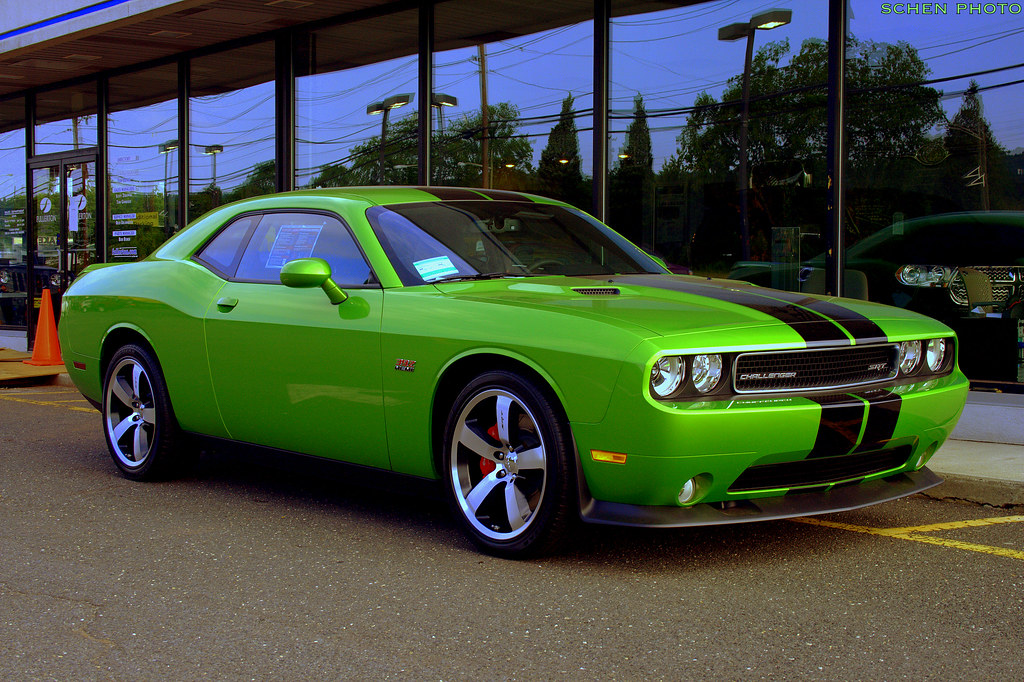 Srt8 392 Green With Envy
