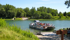 Parc de Boucherville, cable ferry