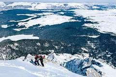Srbsko a Černá Hora - freeridové hory za babku