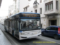 2011 02 09  IRISBUS CASTROSUA 208 3129 CZO LLORENTE BUS ROUTE 10 AT ALTEA (Andrew Reynolds transport view) Tags: bus coach spain europe 10 transport route 02 09 transit altea passenger autobus 208 autobuses 2011 irisbus llorente czo castrosua 3129 at allecante