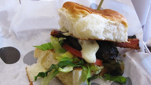 black & bleu slider