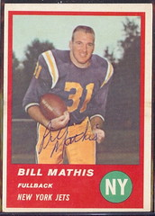 1963 Fleer - 12 - Bill Mathis