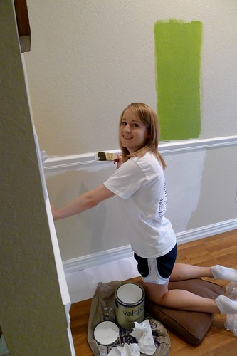 Painting Moulding