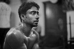 OT20110301103NB (Olivier Timbaud) Tags: bw man muscle bangladesh weightlifters