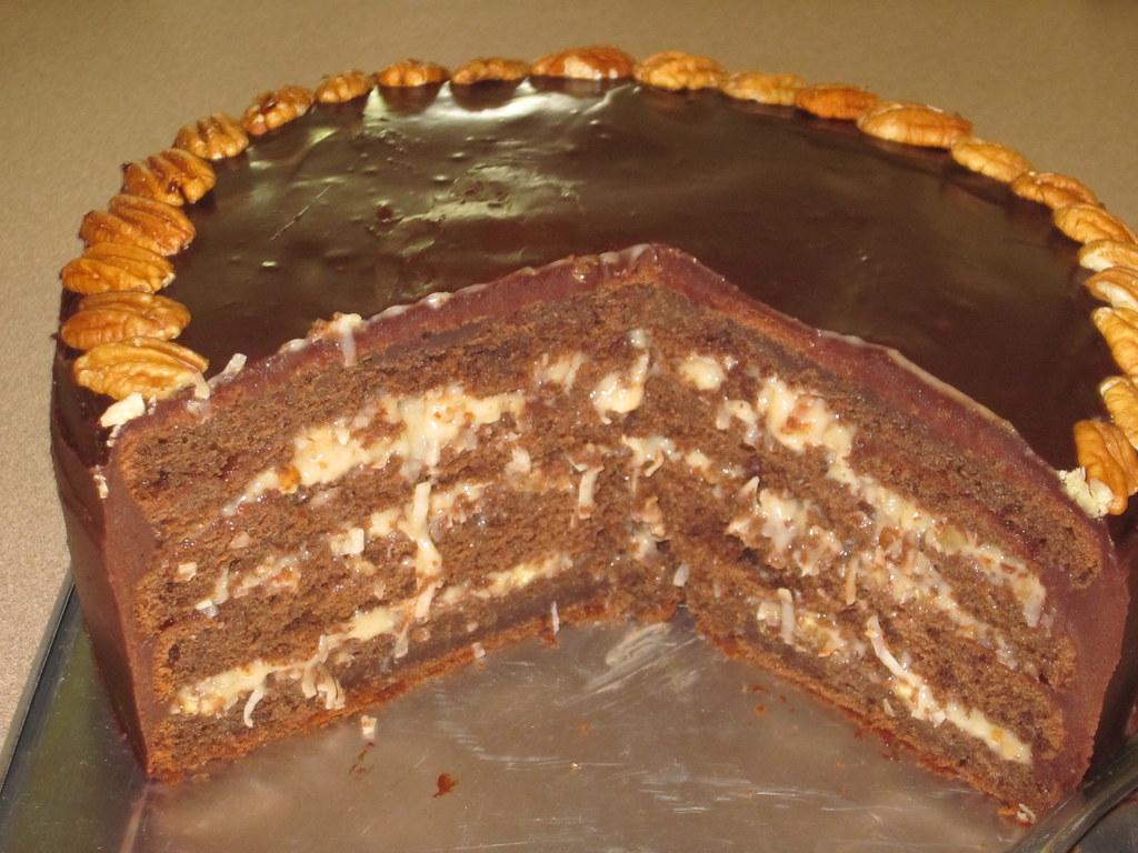 german chocolate cake | Baking 101: Self-Study