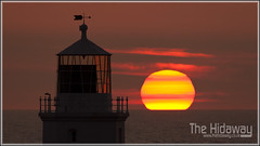 Going down - Explore #299 (Simon Bone Photography) Tags: light sea sky cloud sun lighthouse cornwall bigma godrevy sigma50500mm canoneos30d cornishcoast cornishsunsets wwwthehidawaycouk