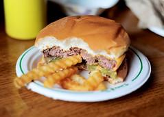 (Kevin Held What) Tags: food minnesota 50mm nikon burger cheeseburger fries lions eden prairie tap mn d700