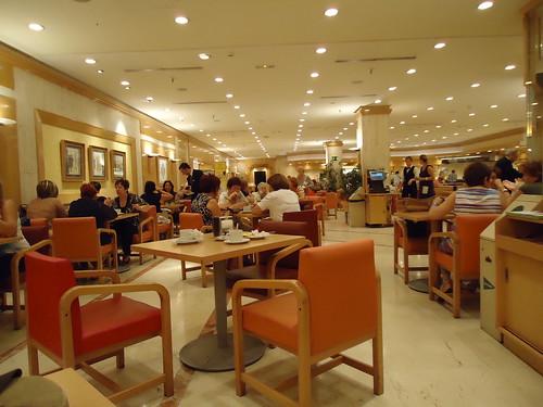 Zaragoza | Cafetería de El Corte Inglés | Interior