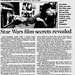 Interview - Jean Bolte - Star Wars film secrets revealed - The Robesonian Lumberton NC - 2000-04-05