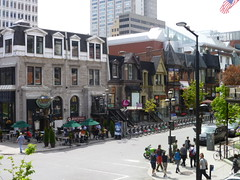 walkable street corner