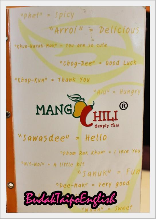 Tambah berat di Mango Chili :) Dari Pavillion Ke Wangsa Walk ..