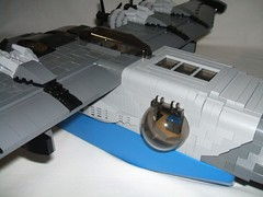 D3C-NeoClipper006 (Dragonov Brick Works) Tags: lego aircraft moc studless miniscale