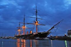 WARRIOR (Ugborough Exile) Tags: uk england nikon ships portsmouth warrior hants d80 panoramafotográfico theoriginalgoldseal