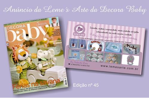Agosto nas bancas edição 45 by LEME´S ARTE / By Helenita Leme
