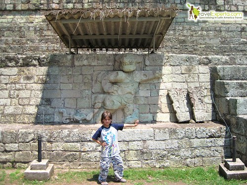 Mayan Ruins Copan Honduras Kids Fun