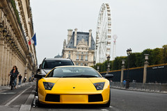 Lamborghini Murcielago (Valkarth) Tags: auto uk original 2002 2 summer paris france london english car yellow jaune canon eos julien automobile europe mark sigma automotive voiture giallo ii coche concorde mk2 5d julius lamborghini juillet 70200 f28 mk rivoli ete midas mkii vendome murcielago markii 70200mm lambo valk mark2 2011 spoting murcie 580hp 580bhp 580ch lp580 valkarth fautrat 580cv xothum