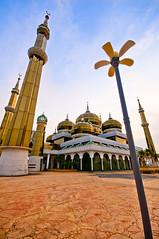 Salam Ramadhan... (Mk Azmi) Tags: nikon crystal mosque terengganu kualaterengganu 10mm d90 masjidkristal