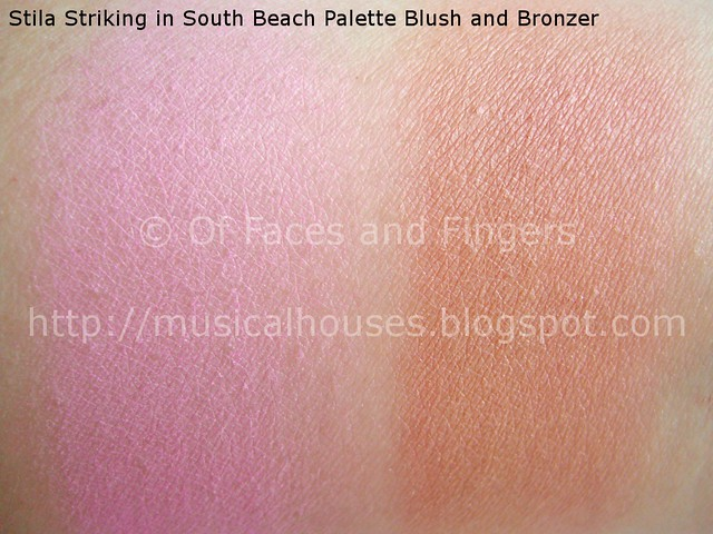 stila stunning in south beach palette swatches 3
