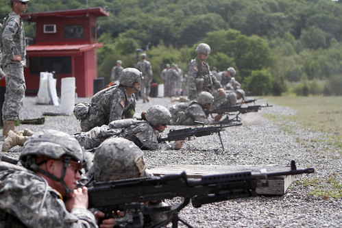 CBT: Company A in crew-served weapons training_13