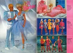 Barbie Journal 1992 (Finnish) (vaniljapulla) Tags: barbie catalogue vintagebarbie barbiefashion barbieaccessories vintageken kenfashion myfirstbarbie myfirstken barbiejournal1992