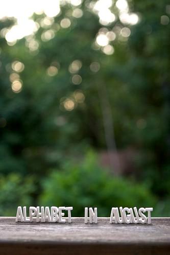 Alphabet in August