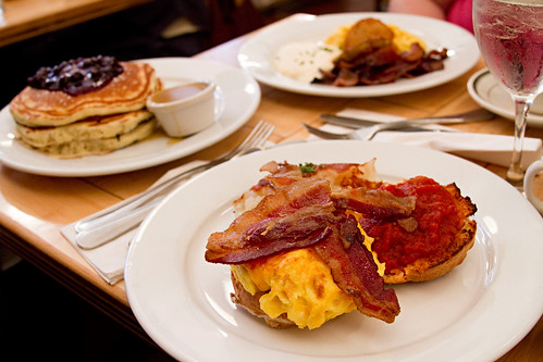 Breakfast at Clinton St. Bakery, NYC