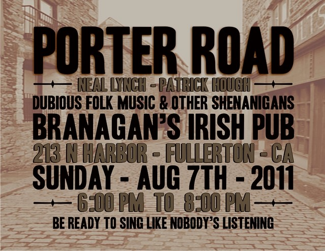 Porter Road, August 7th, 2011