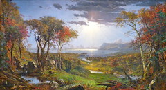 Autumn on the Hudson River, Jasper Francis Cropsey, National Gallery of Art (lreed76) Tags: francis jasper nationalgalleryofart cropsey autumnonthehudsonriver