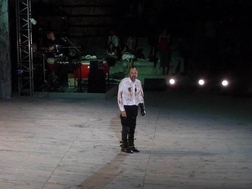 Kevin Spacey as Richard III @ ancient theatre of Epidauros