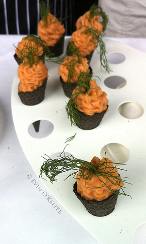 El Vino's Smoked Salmon Mousse with Dill