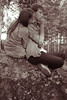 (Katya_Malutina) Tags: boy summer nature girl forest warm together cigarettesmoke d3000