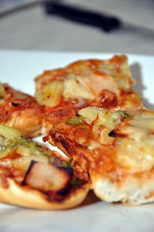 Baguette Tahiti Pizza