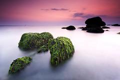 Trvignon (Bretagne) (jonlp) Tags: longexposure sea france beach landscape bretagne plage hondartza itsasoa trvignon paisajea