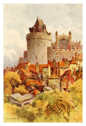 018- La torre Curfew- Windsor castle 1910- Ernest William Haslehust