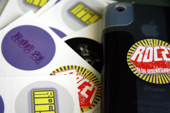 stikers roc21