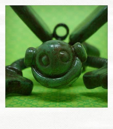 Sneak Peek | Green Robot Sees You by HerArtSheLoves