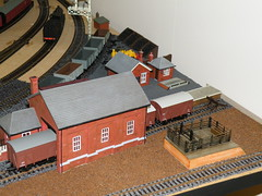 The Goods Yard - just a start (longsheds) Tags: ballast modeltrains modelrailway peco railwaylayout skaledale hornbyskaledale
