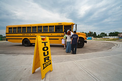 Brookhaven Summer Sunday (DaveMosher) Tags: bus tour science longisland schoolbus brookhavennationallaboratory