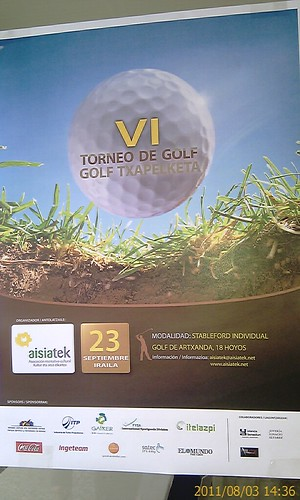 TORNEO GOLF ASIATEK by LaVisitaComunicacion