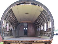 DC4003 (SixbyFire) Tags: park urban abandoned plane airplane aircraft cleveland forgotten vasp brook paulo exploration sao airliner fuselage aerea brookpark dc4 viacao
