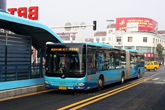 BRT BUS Station DD6187S01 DD6187S01 (Dennis Wu_) Tags: china bus  brt jiangsu  changzhou   xizijie   dd6187s01