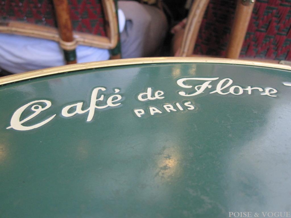 Paris Café de Flore 1