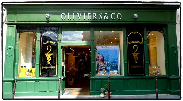 Paris-Annoter Olive oil shop, rue DES francs bourgeois