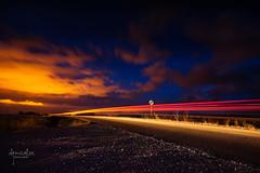 Saturday Night light (_Perseo_ (Renovatio)...) Tags: sunset david canon atardecer eos noche nd nocturna gonzalez burgos 1740 coches ibaez filtro estela perseo 5dmarkii villariezo wwwdgonzalezfotografiacom