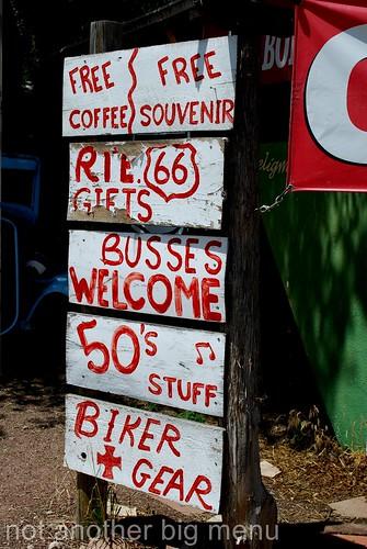 Las Vegas, Nevada - Route 66 signs - Free souvenir
