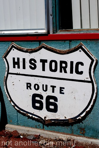 Las Vegas, Nevada - Route 66 signs - Historic Route 66