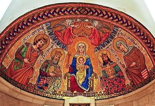 Mosaico de la bóveda