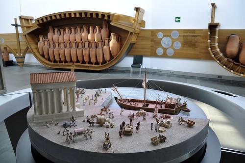 Museo Nacional de Arqueología Subactuatica ARQUA y submairino de Isaac Peral