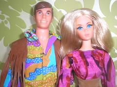 Live Action Barbie & Ken (ColeKenTurner) Tags: old vintage 1971 mod doll dolls action live ken barbie 70s mattel